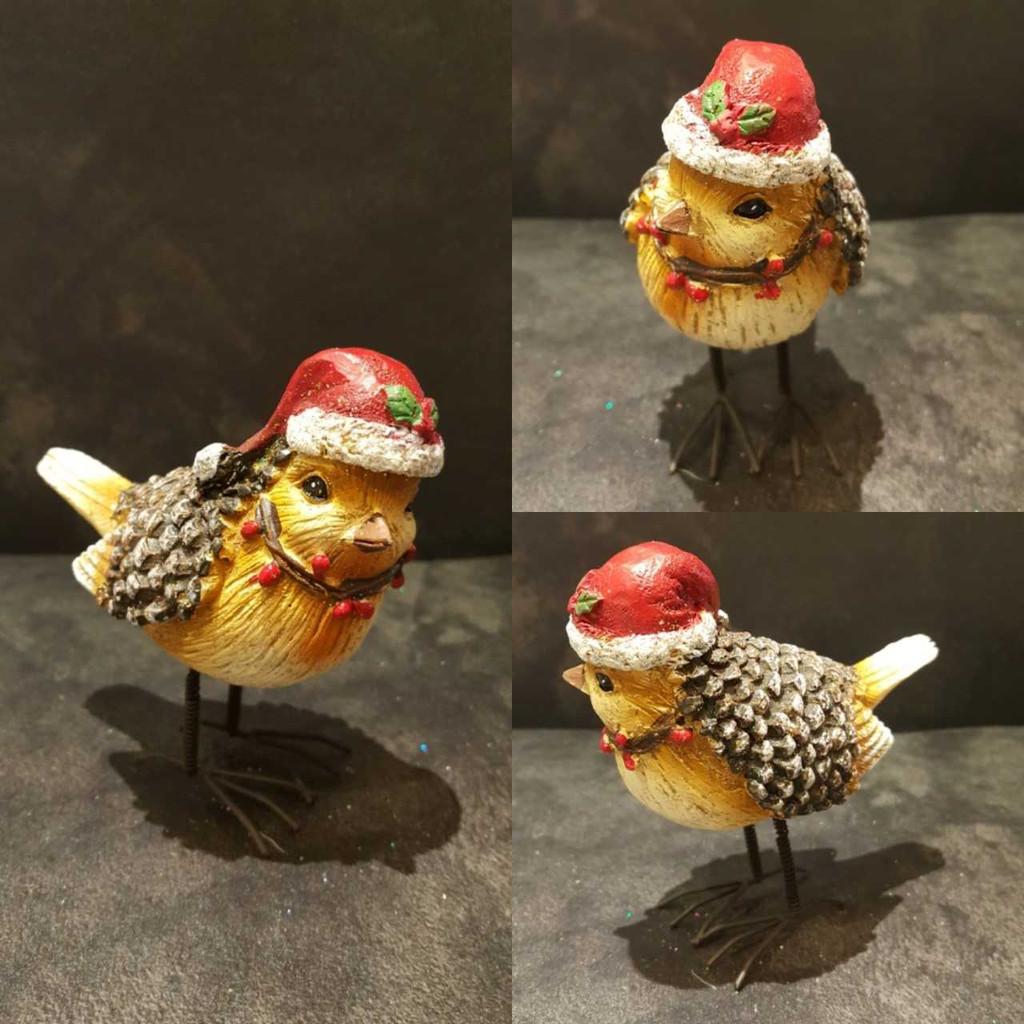 Christmas Robin Table Decoration Ornament