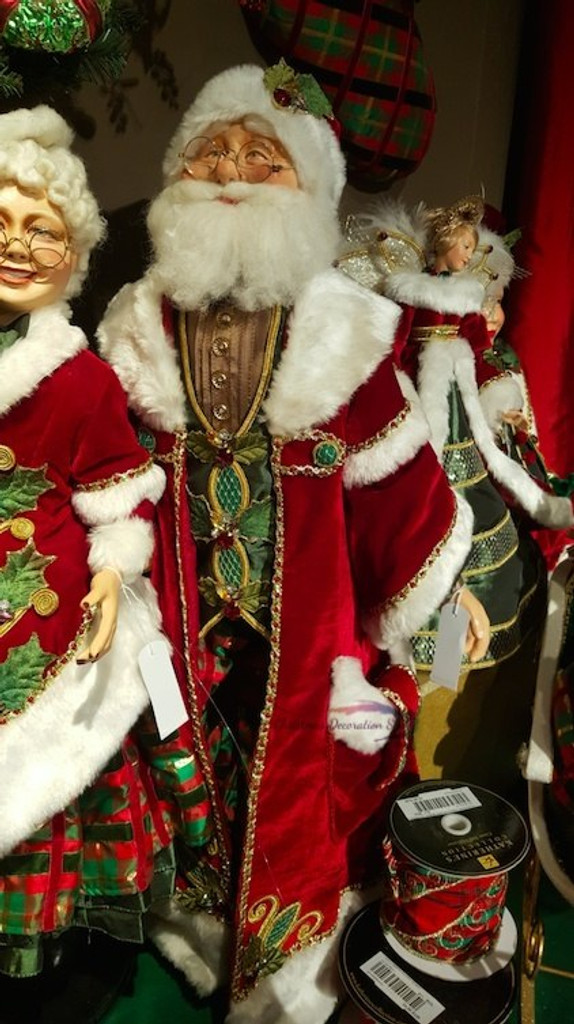 Katherine's Collection Mr Clause Santa Doll