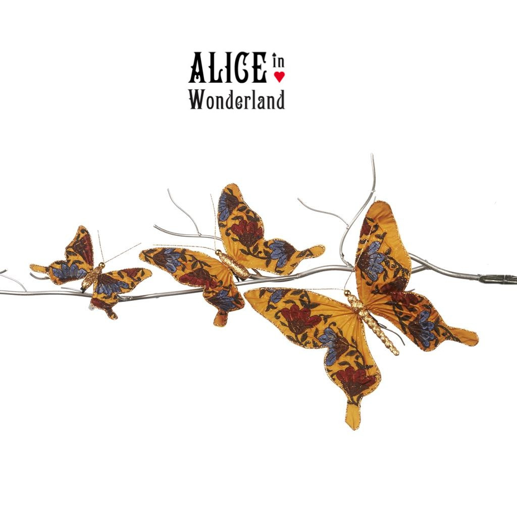 Alice In Wonderland Butterfly Set