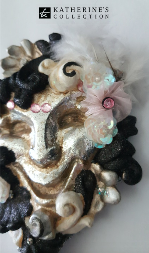 Katherine's Collection Jester Face Mirror