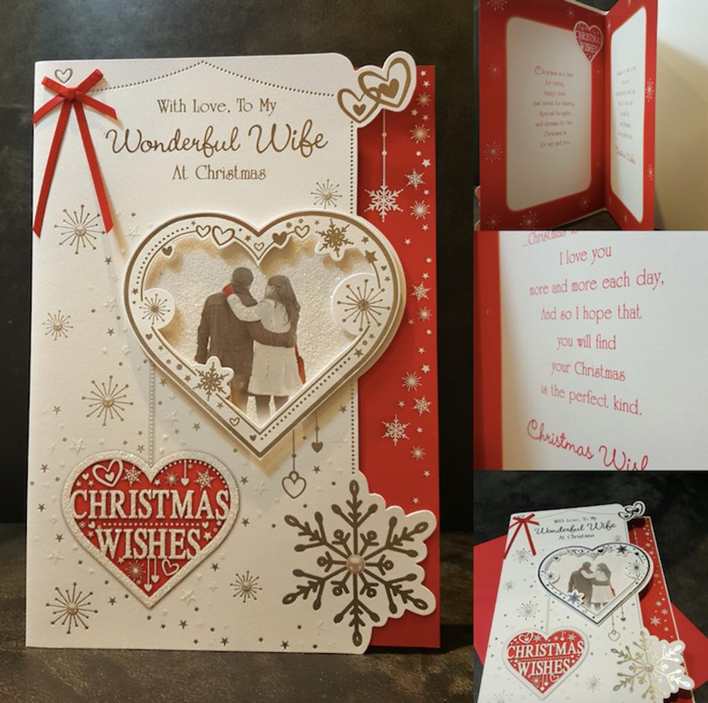 Christmas Wife Card