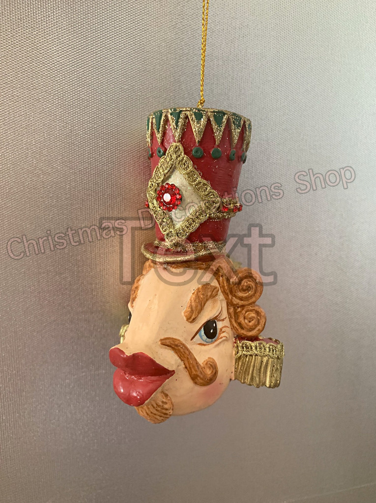Goodwill Nutcracker Kissing Fish Tree Decoration
