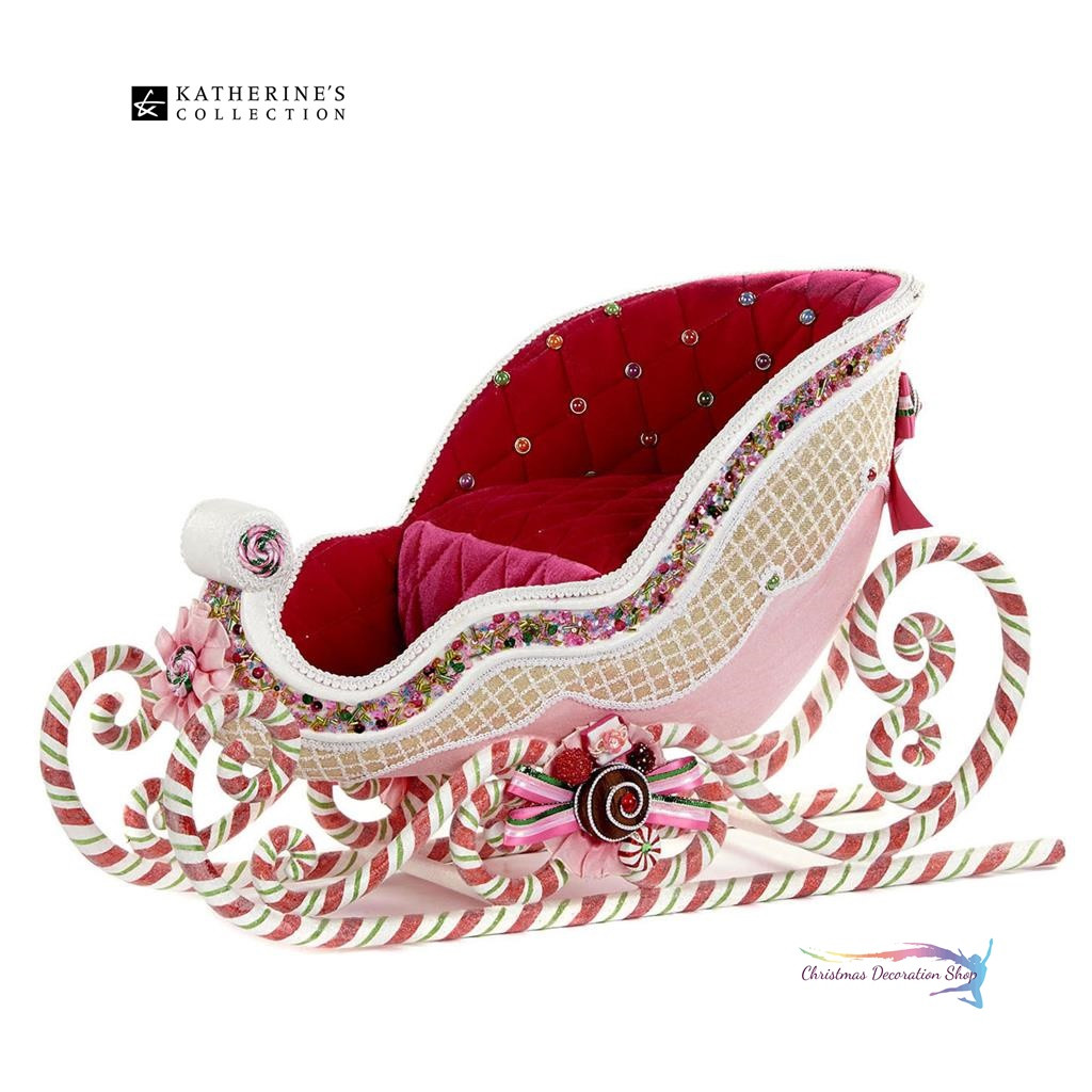Katherine's Collection 2018 Candy Sweet Sleigh 37cm