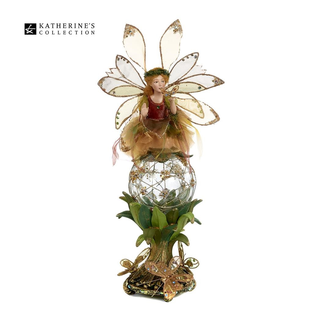 Katherine's Collection 2018 Fairy On Glass Ball 51CM