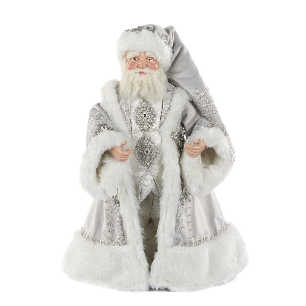 WINTER WONDERLAND SANTA DOLL WH 61CM