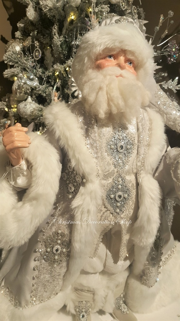 Katherine's Collection 2019 Winter Wonderland Santa