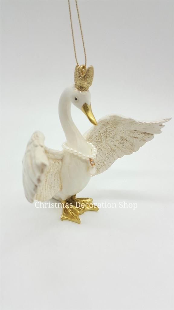 Goodwill 2019 Princess Swan Tree Ornament