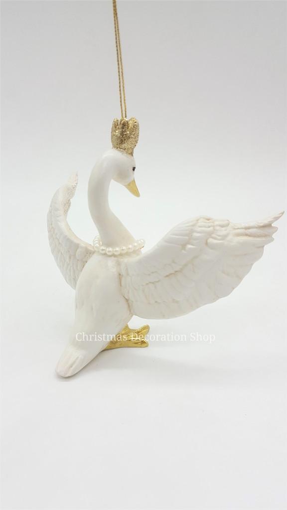 Goodwill 2018 Princess Swan Tree Ornament