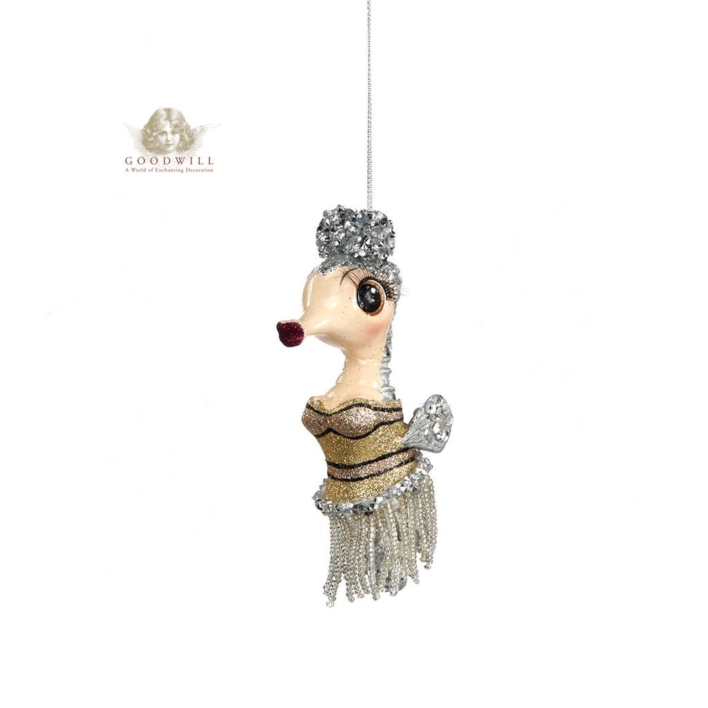 Goodwill Gatsby Seahorse Christmas Tree Ornament 12,5cm