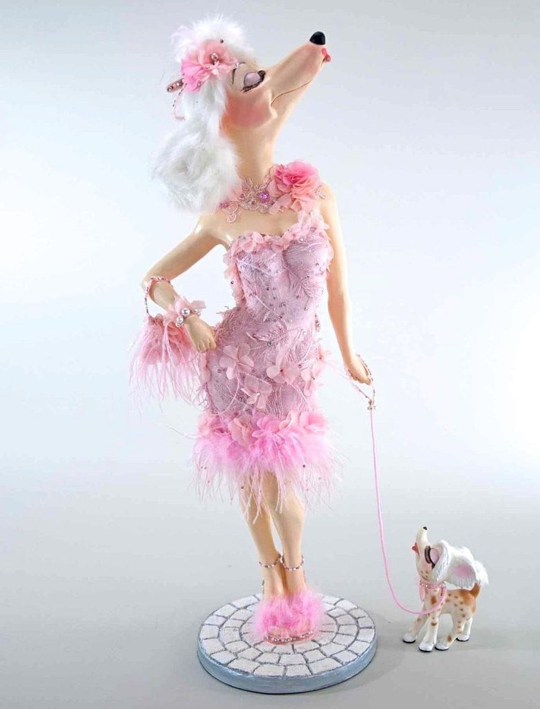 """Katherine's Collection Fifi Goes To Paris Display Doll 32"""""""
