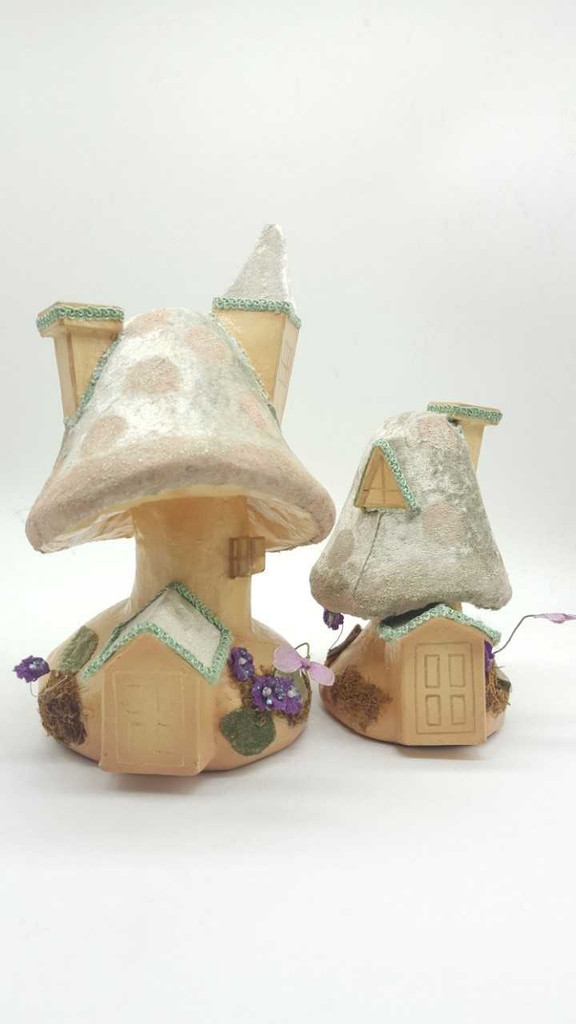 Katherine's Collection Spring Mushroom House Set