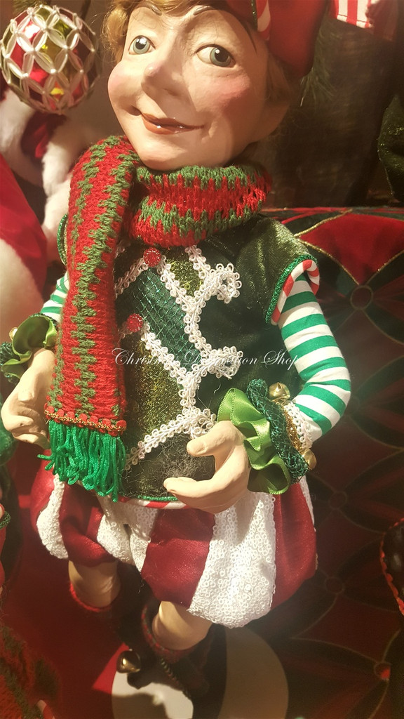 Katherine's Collection Elf Doll Display 2019
