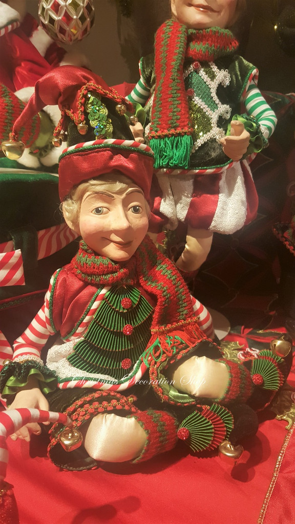 Katherine's Collection Christmas Elf Doll 2019