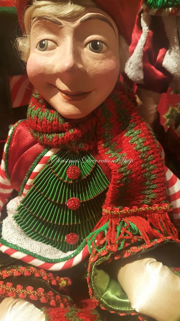 Katherine's Collection Christmas Elf Doll 2018