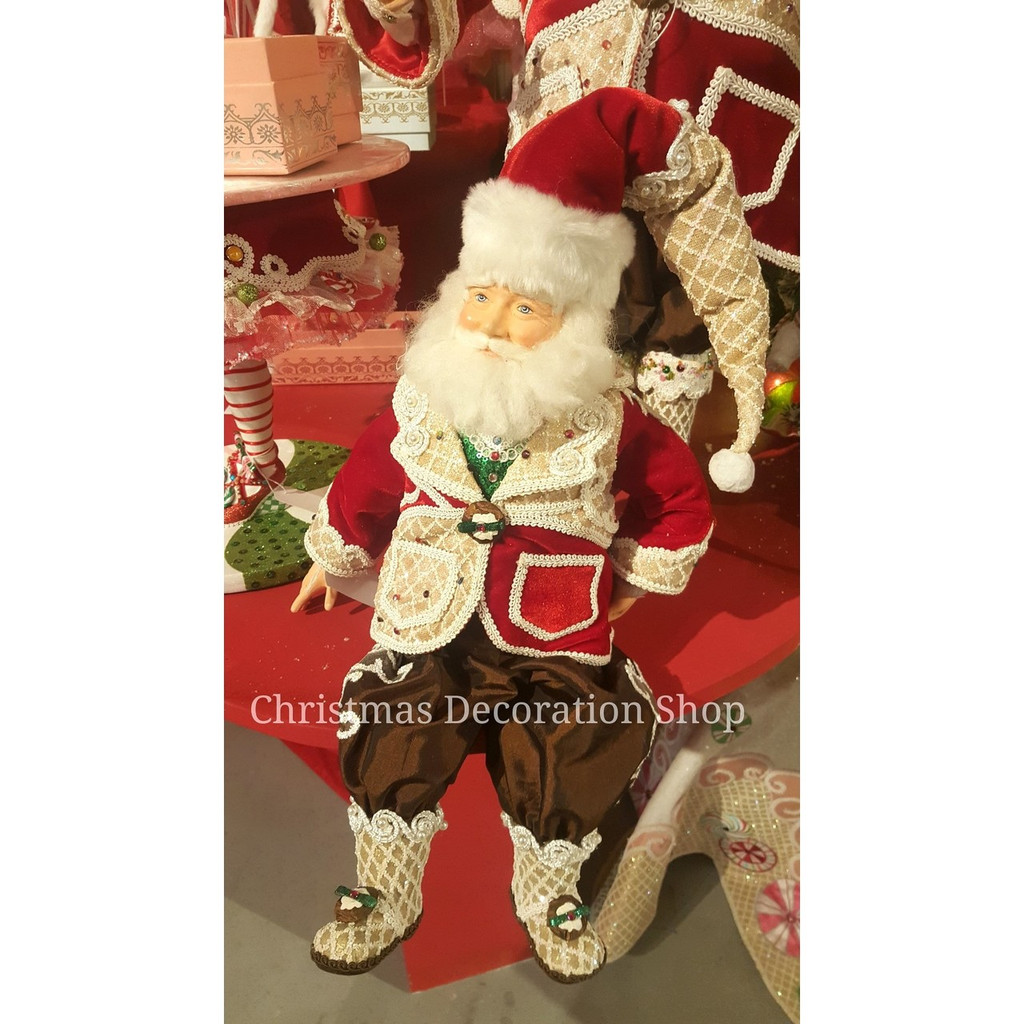 Katherine's Collection 2019 Sweet Xmas Santa Doll