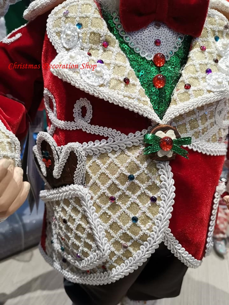 Sweet Xmas Santa Doll 66cm