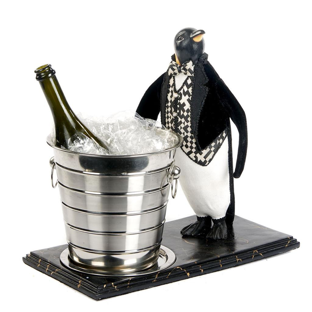 Katherine's Collection Penguin With Bucket