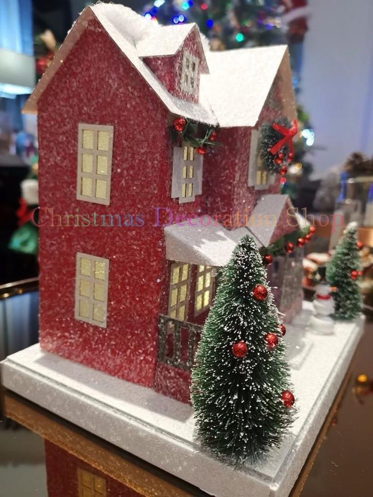 Christmas LED House Display
