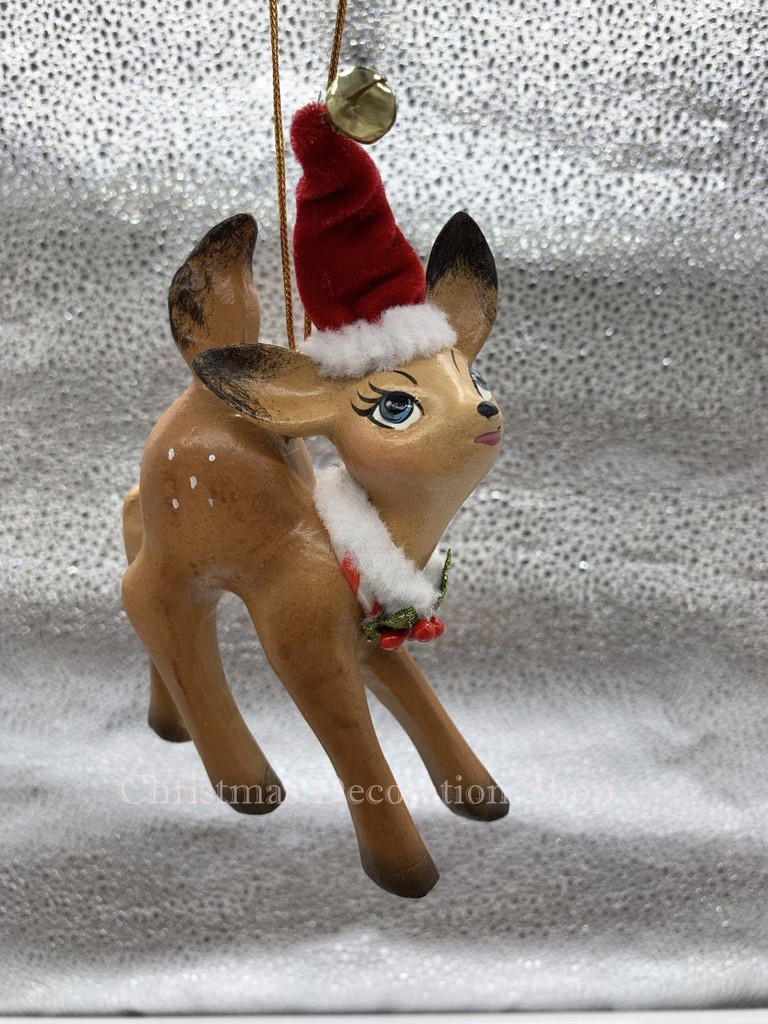 Katherine's Collection Standing Deer Tree Ornament