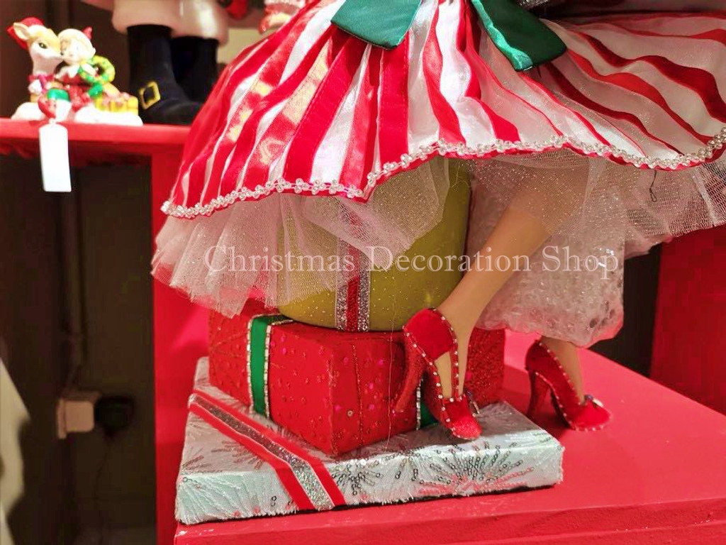 Katherine's Collection 2019  Christmas Doll Tray