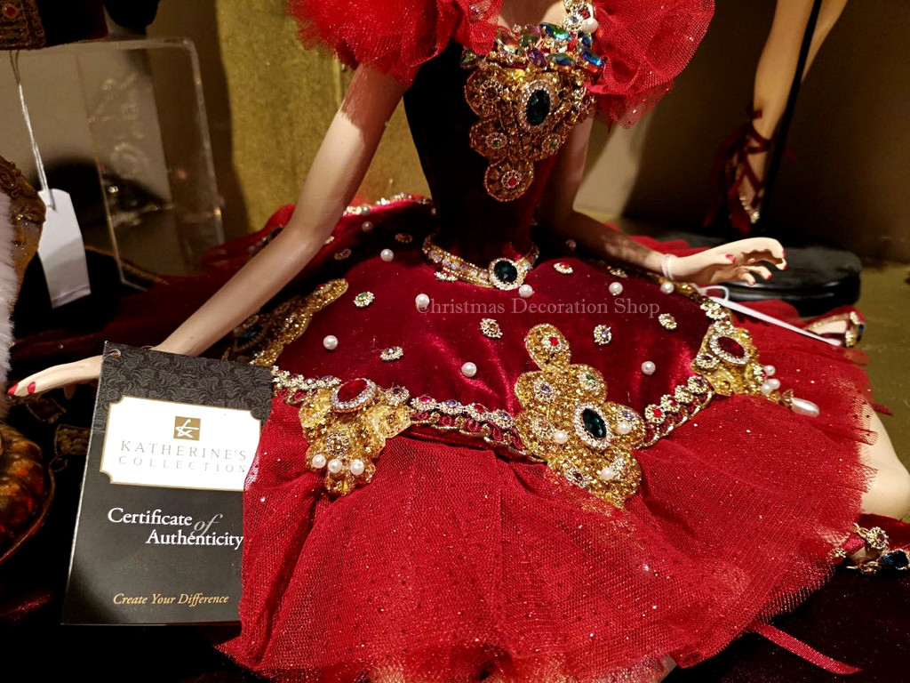 Katherine's Collection 2019 Sitting Fairy Doll