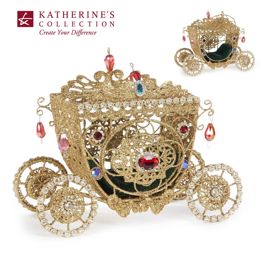 Katherine's Collection 2019 Nutcracker Carriage Display Decoration