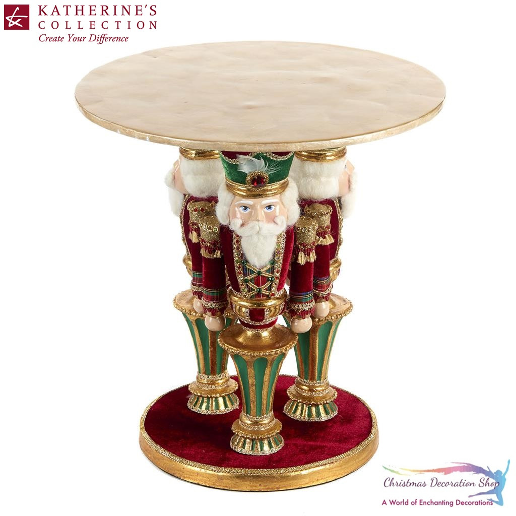 Katherine's Collection Nutcracker Cake Stand Display