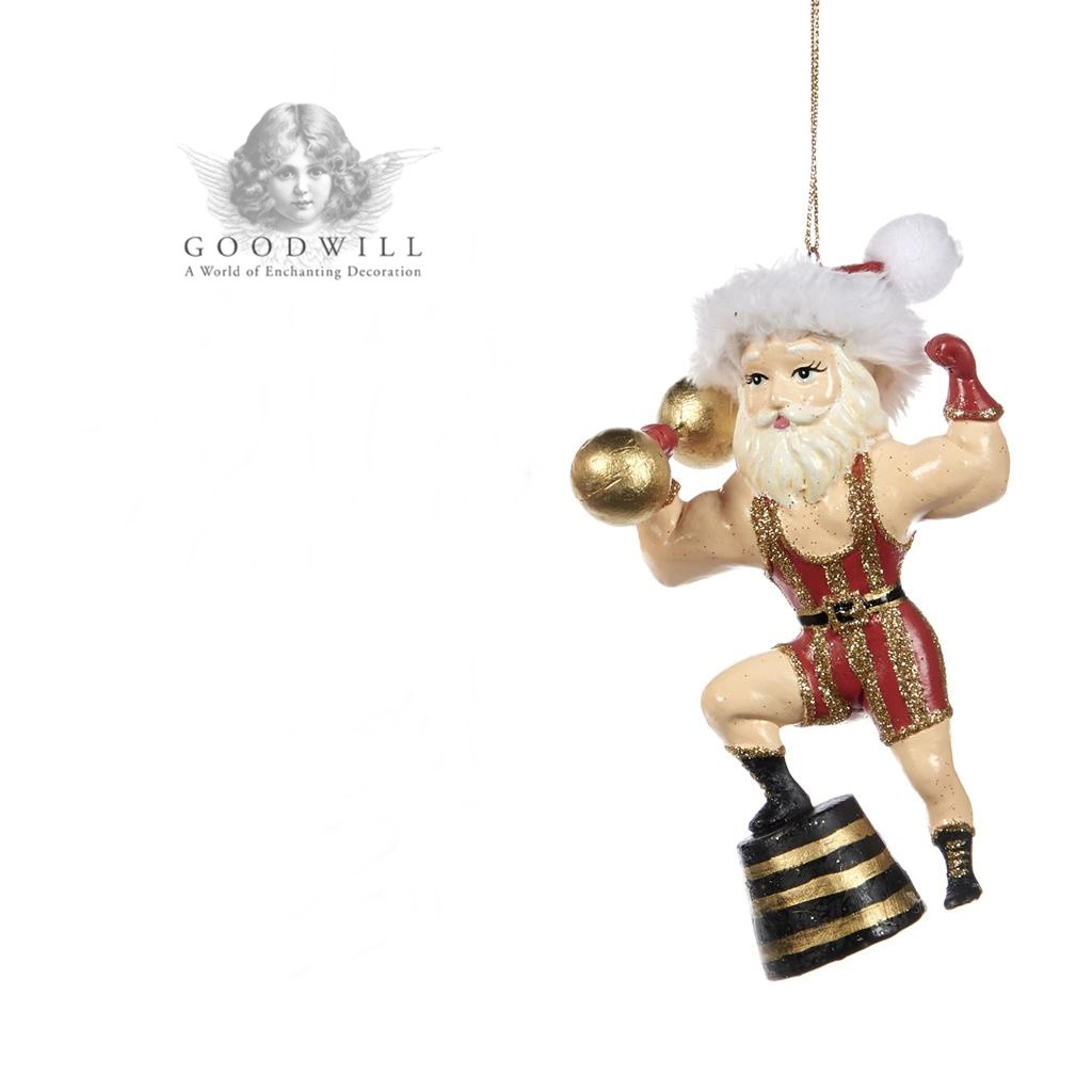 Goodwill 2019 Santa Circus With Barbell