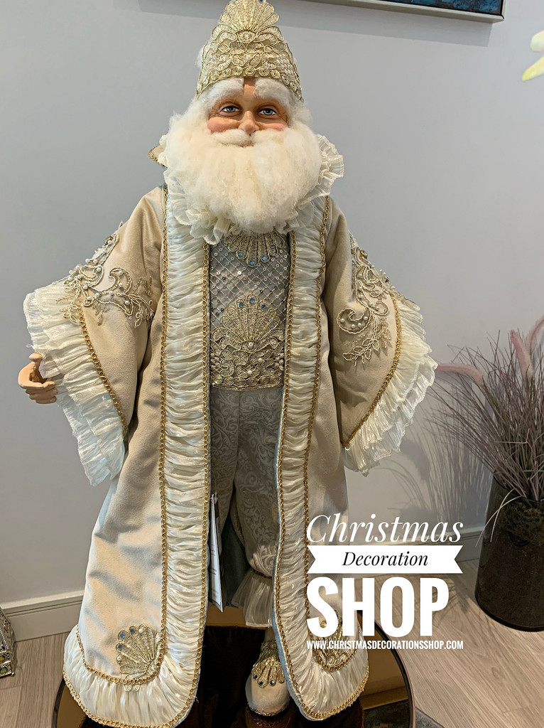 Katherine's Collection 2019 Treasures Santa Doll