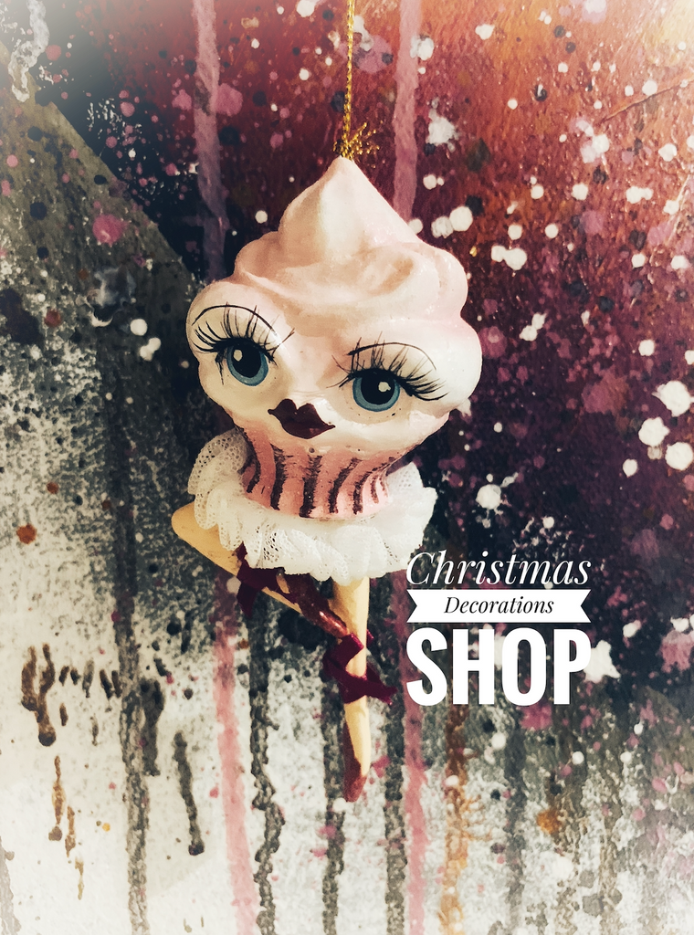 Goodwill 2019 Cupcake Lady Tree Ornament