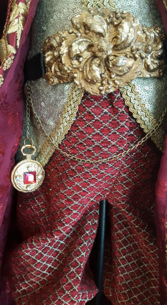 Katherine's Collection Jules Garland Santa Doll