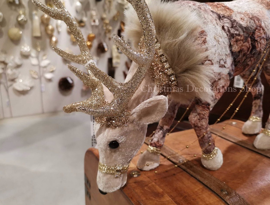 Goodwill 2019 Bejewelled Floral Reindeer