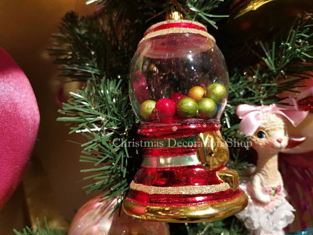 Goodwill 2019 Glass Bubble Gum Machine Ornament