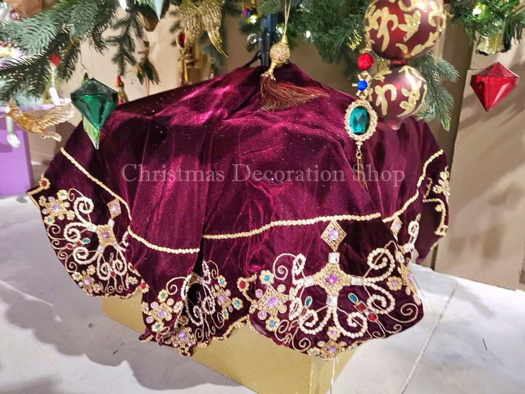Katherine's Collection 2019 Jewel Tree Skirt