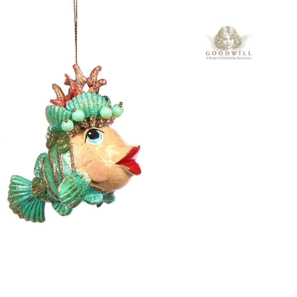 Goodwill 2019 Coral Clown Fish Christmas Decoration