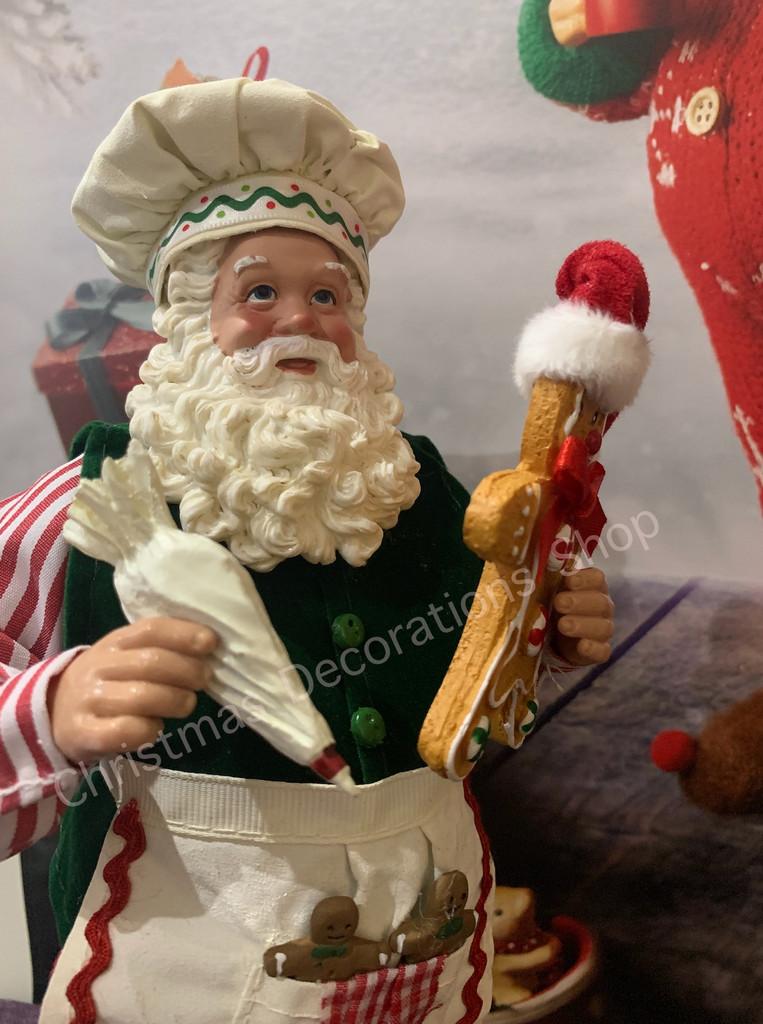 Goodwill Gingerbread Christmas Santa Doll