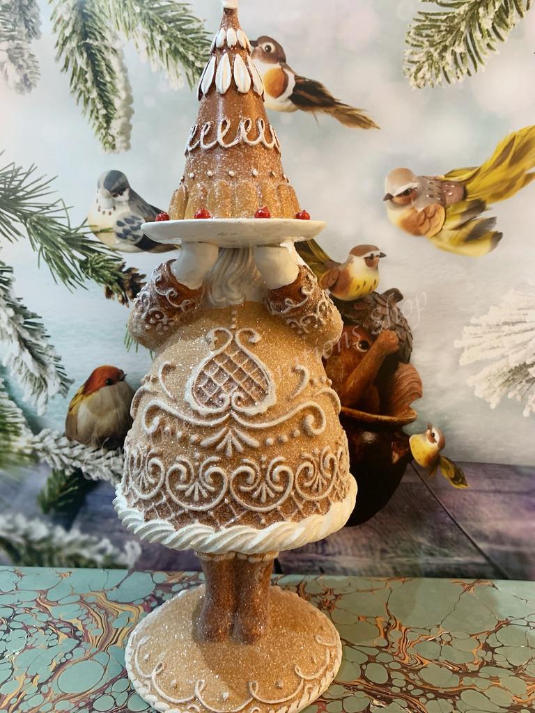 Goodwill Gingerbread Santa Display