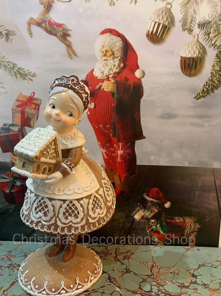 Goodwill Gingerbread Mrs Claus Display