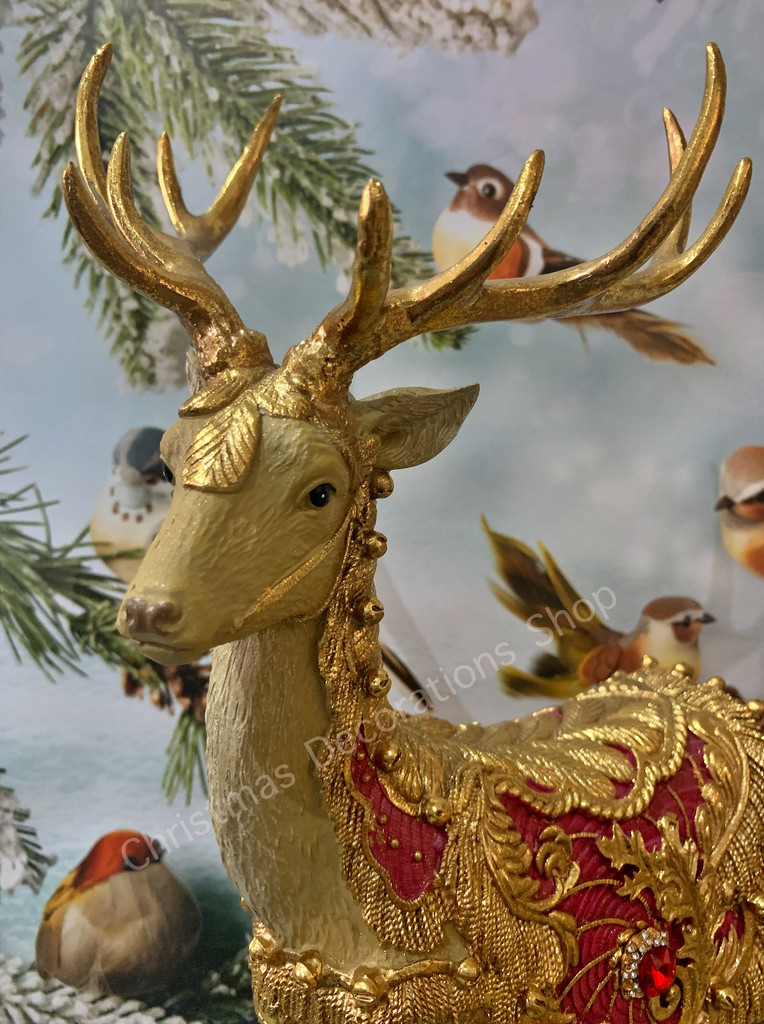 Goodwill 2021 Nutcracker Reindeer Christmas Display