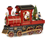 LED L.MUS.MOT.SANTA IN TRAIN TT RD 48CM BATT.OP.
