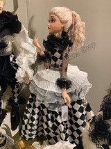 Goodwill 2020 Pierrot Lady Doll BLK/WH 66CM