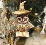 Goodwill 2021 Wizard Owl Christmas Decoration