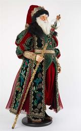 Katherine's Collection 2021 Santa Kingston Tiding Doll  88CM
