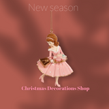 Goodwill 2021 Candy Macaroon Lady Tree Ornament
