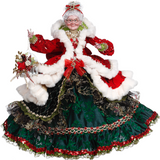 MERRY CHRISTMAS MRS.CLAUS GRN/RD 59CM