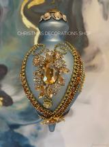 Mark Roberts Glass Jewel Kings Bauble