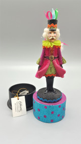 Katherine's Collection Nutcracker Mint Box Ornament