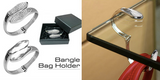 Crystal Bangle And Handbag Table Hook