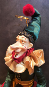 Christmas Jester Doll