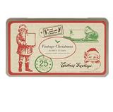 Christmas Vintage Rubber stamp Set